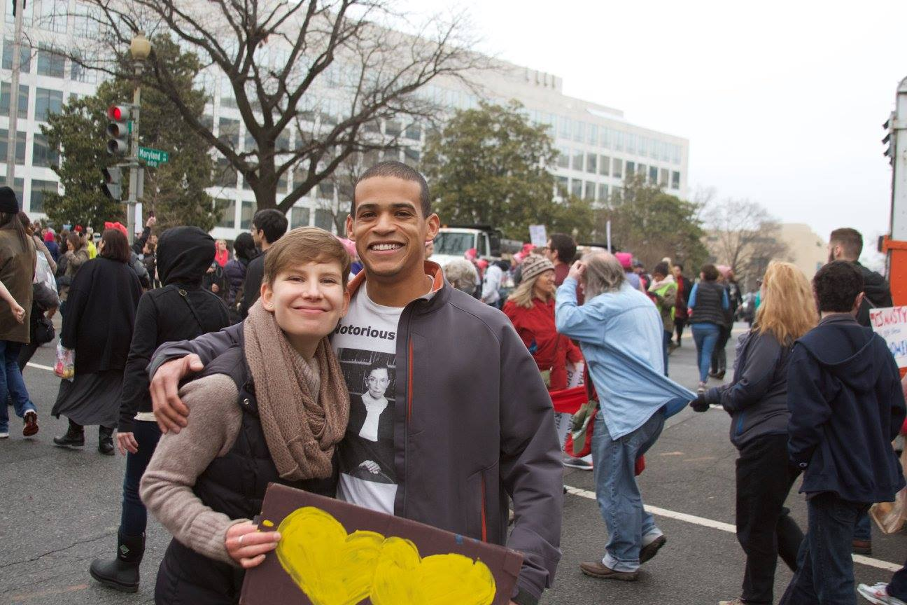 Women's March , Washington DC, January 2017