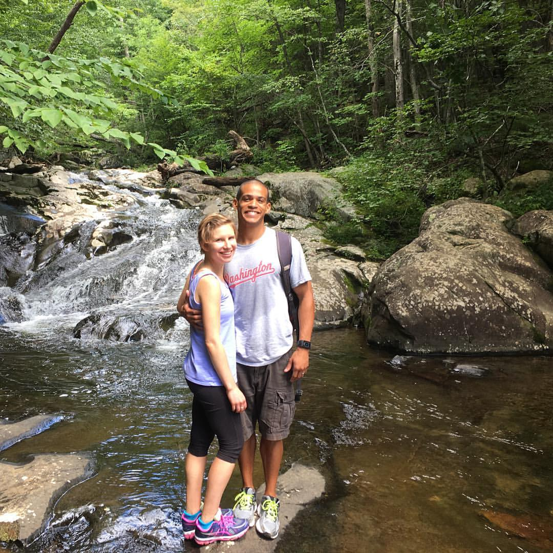 A hike at  White Oak Canyon  in Shenandoah National Park in August 2016.