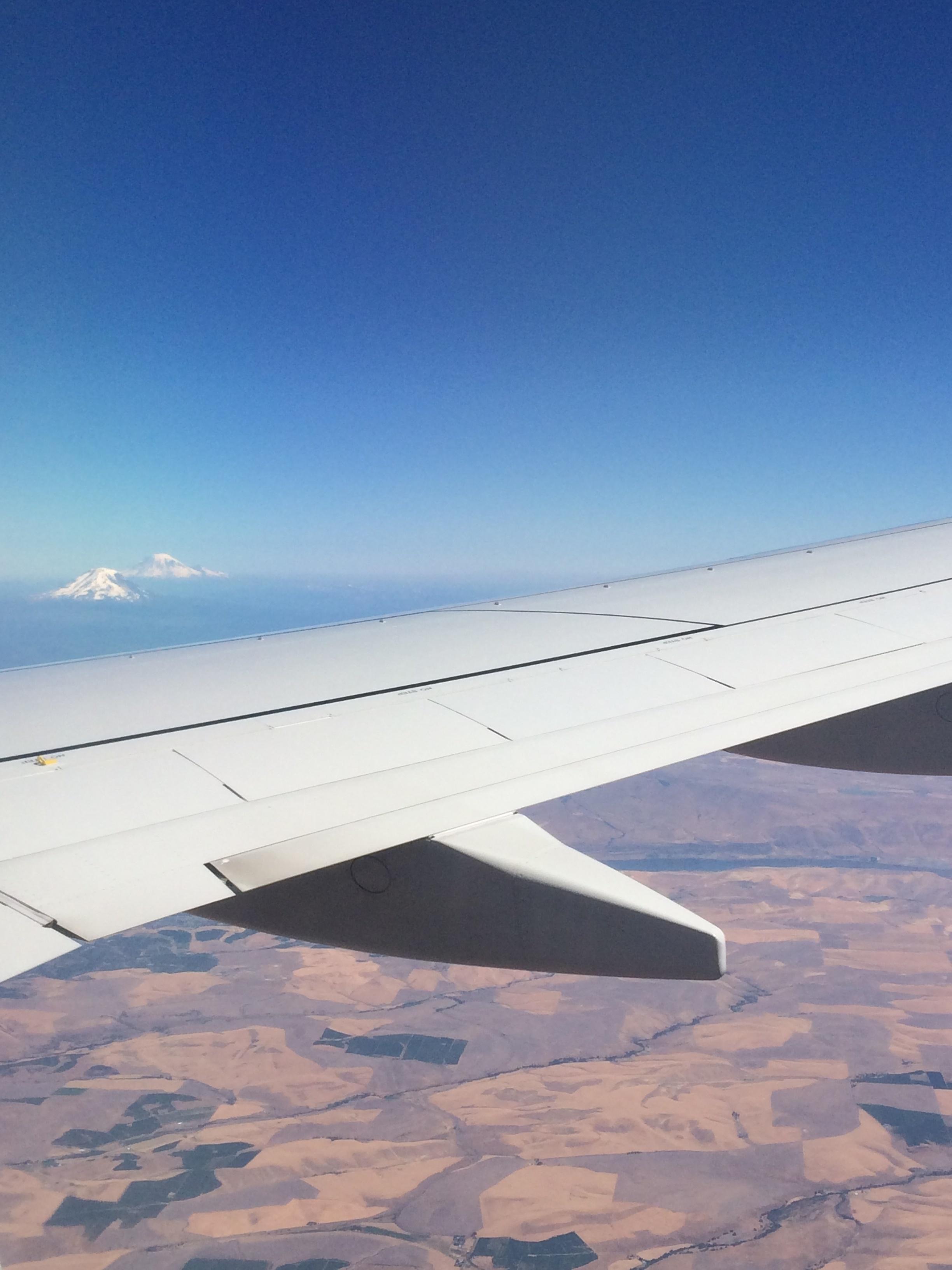 En route to Portland