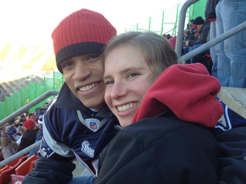 Washington Redskins  vs New England Patriots, December 2011