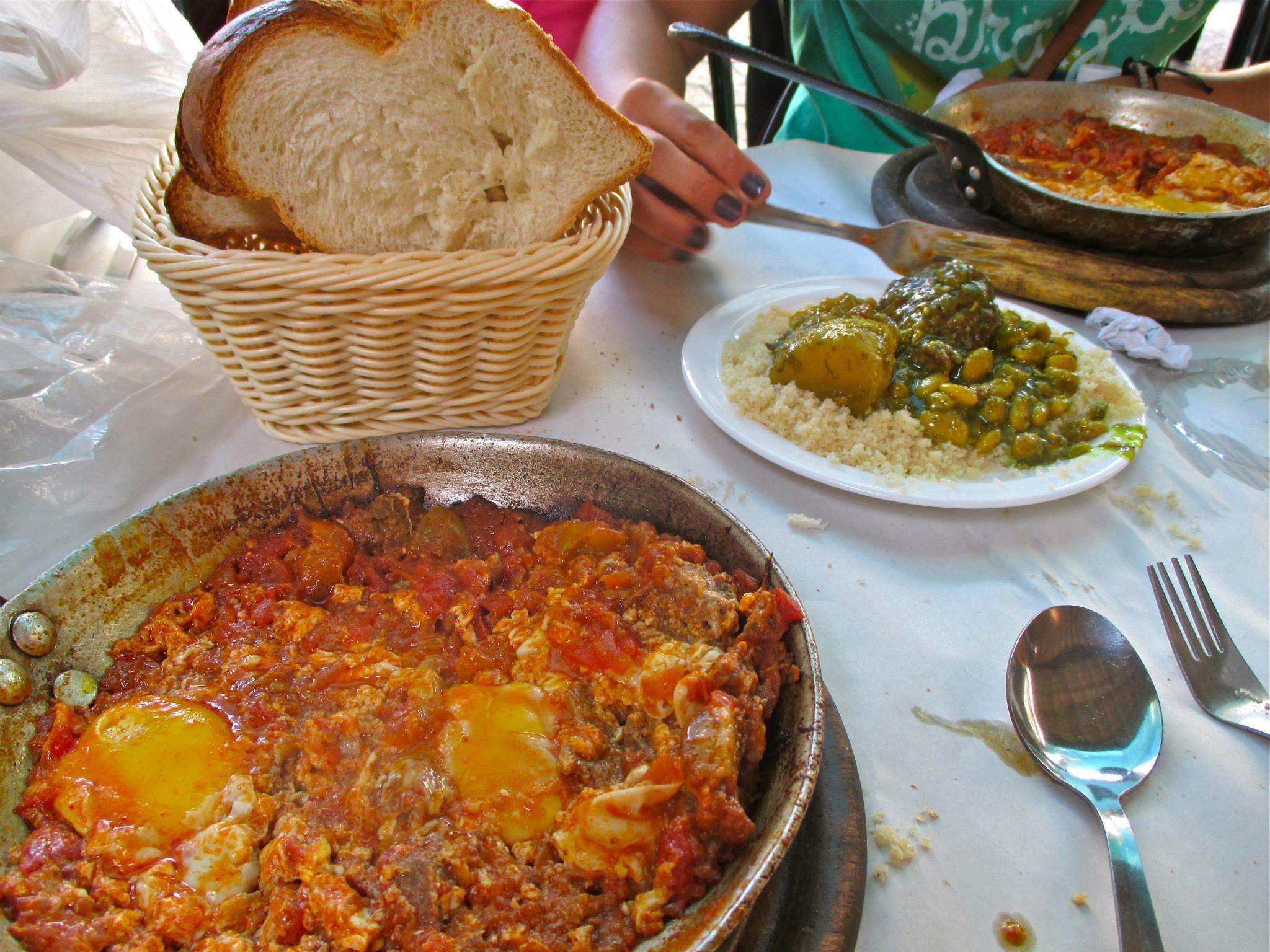 Our meal at Dr. Sakshuka