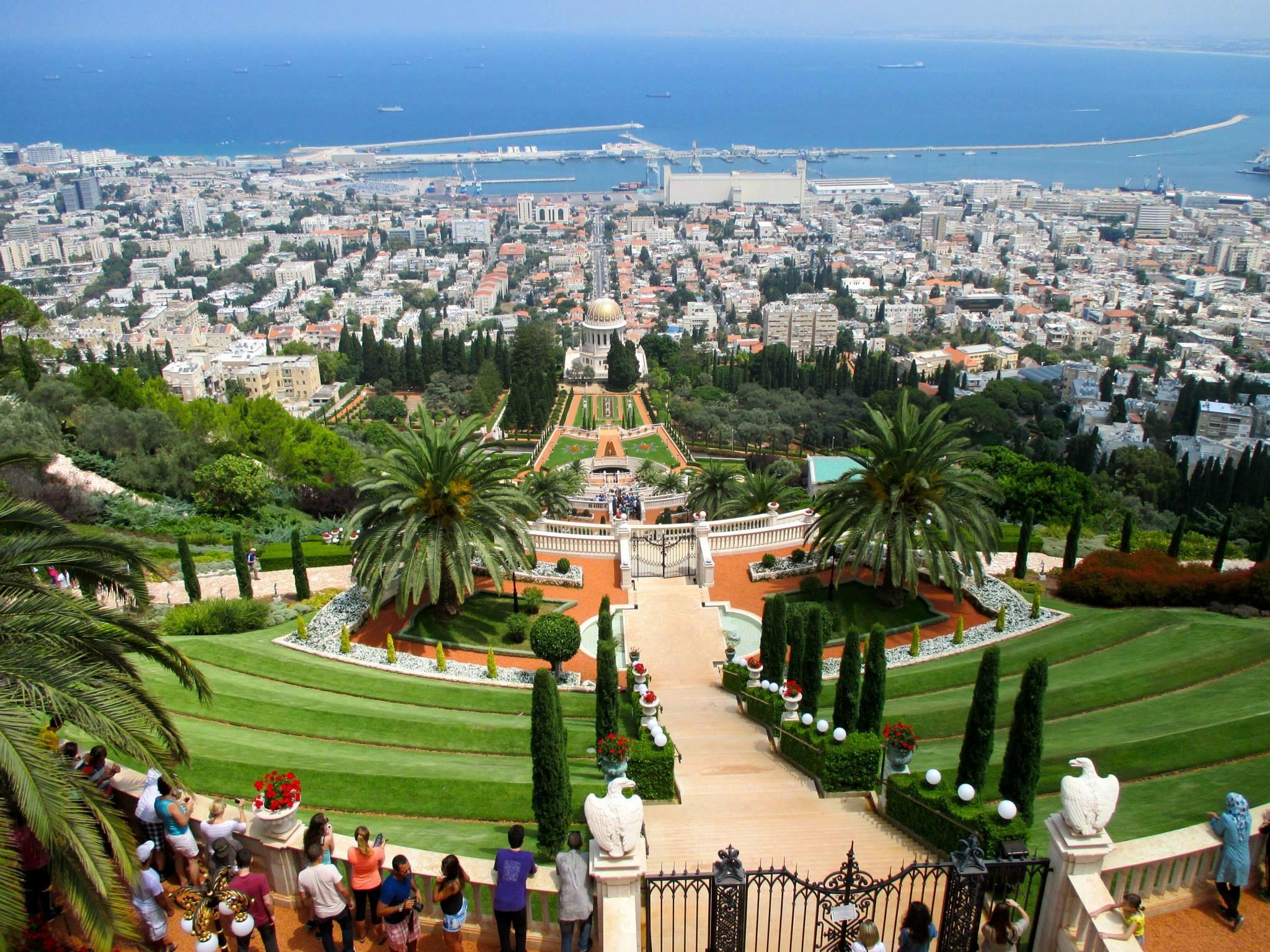The Baha'i Garden, a top site in Haifa