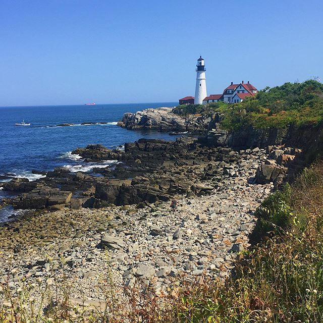 Easy to fall in love with Maine in the summer!