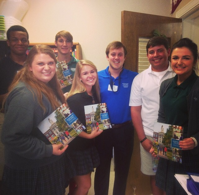 Our Admissions Counselor Cameron Treadwell at Cedar Creek in Ruston, LA.