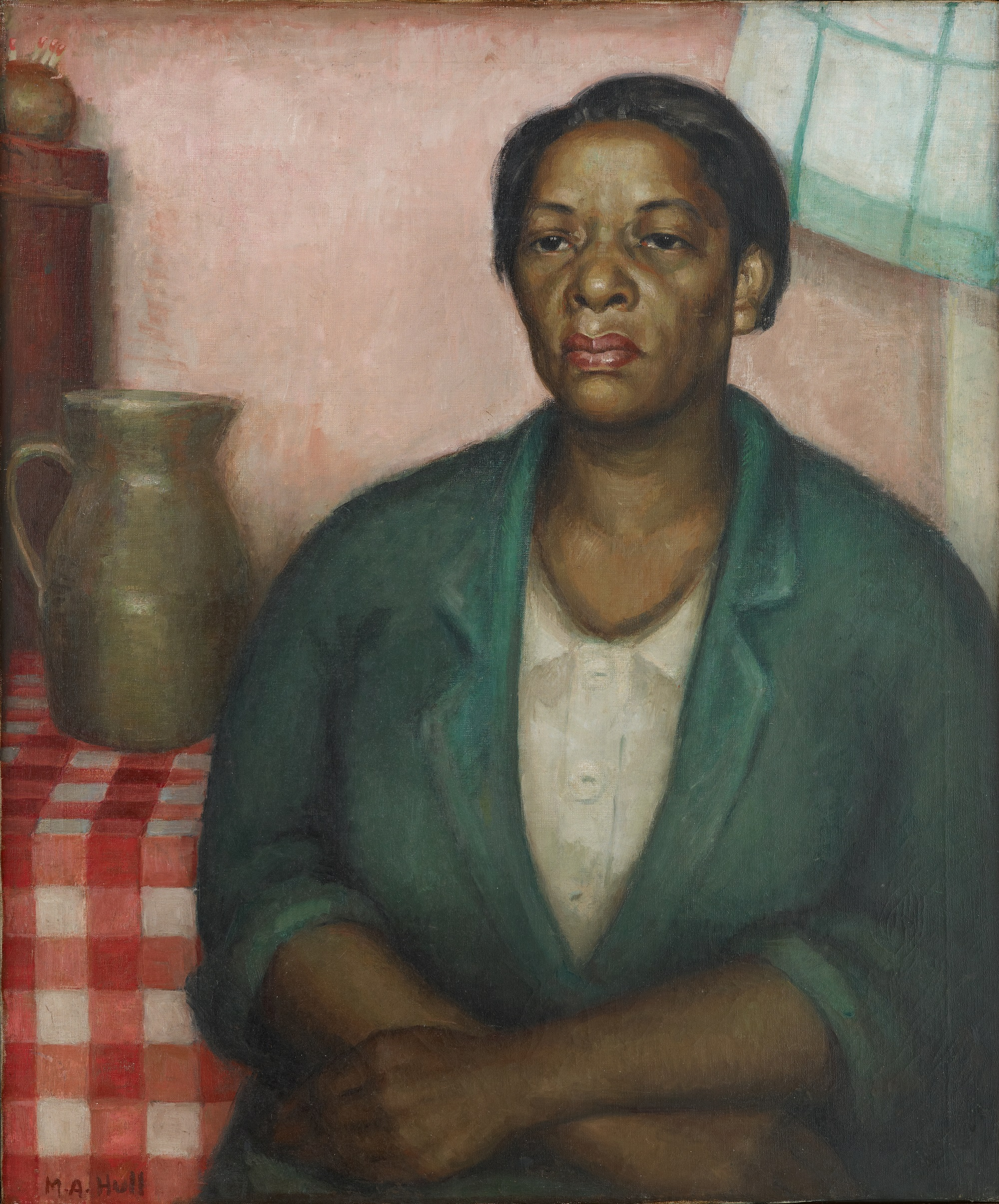 Marie Hull (1890-1980), Melissa, 1930. oil on canvas. Collection of Mississippi Museum of Art.