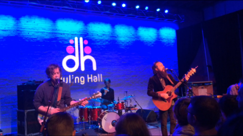 This picture is from when I saw Iron and Wine at Duling Hall in April.