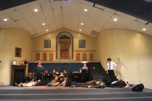 My favorite picture from our production of  And Then There Were None