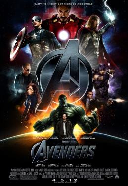 Marvel Cinematic Universe! There are over 10 movies at this point. To figure out where to start,  click here (and scroll a bit).