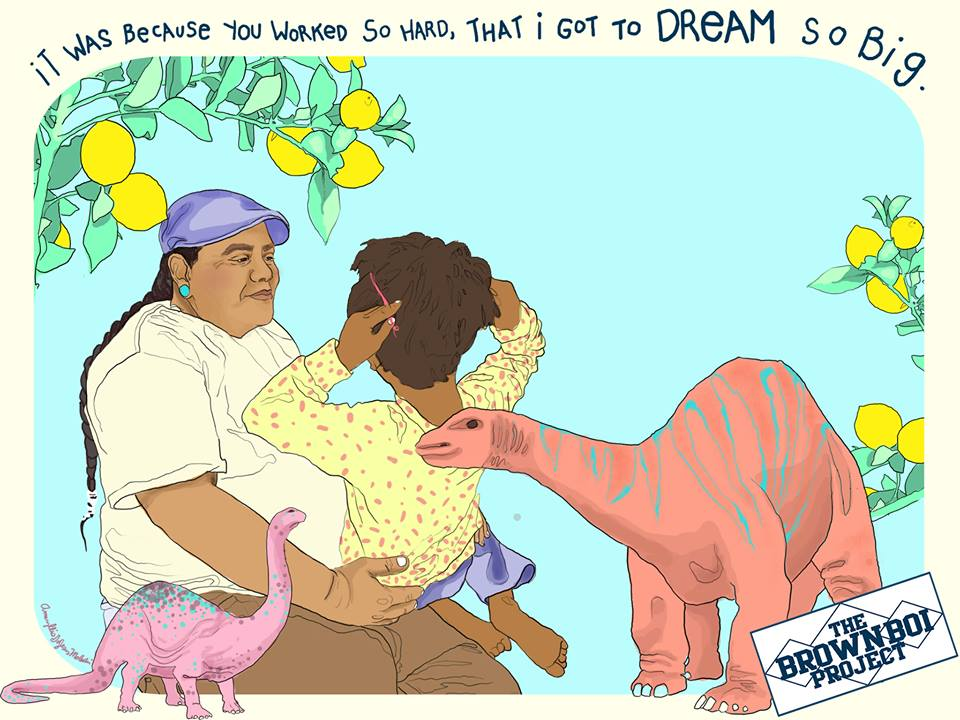 Dream Work. For BBP. Art by Amaryllis DeJesus Moleski