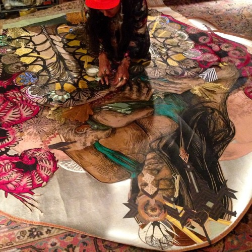 Monica Canilao and her collaborative works with artist  SWOON