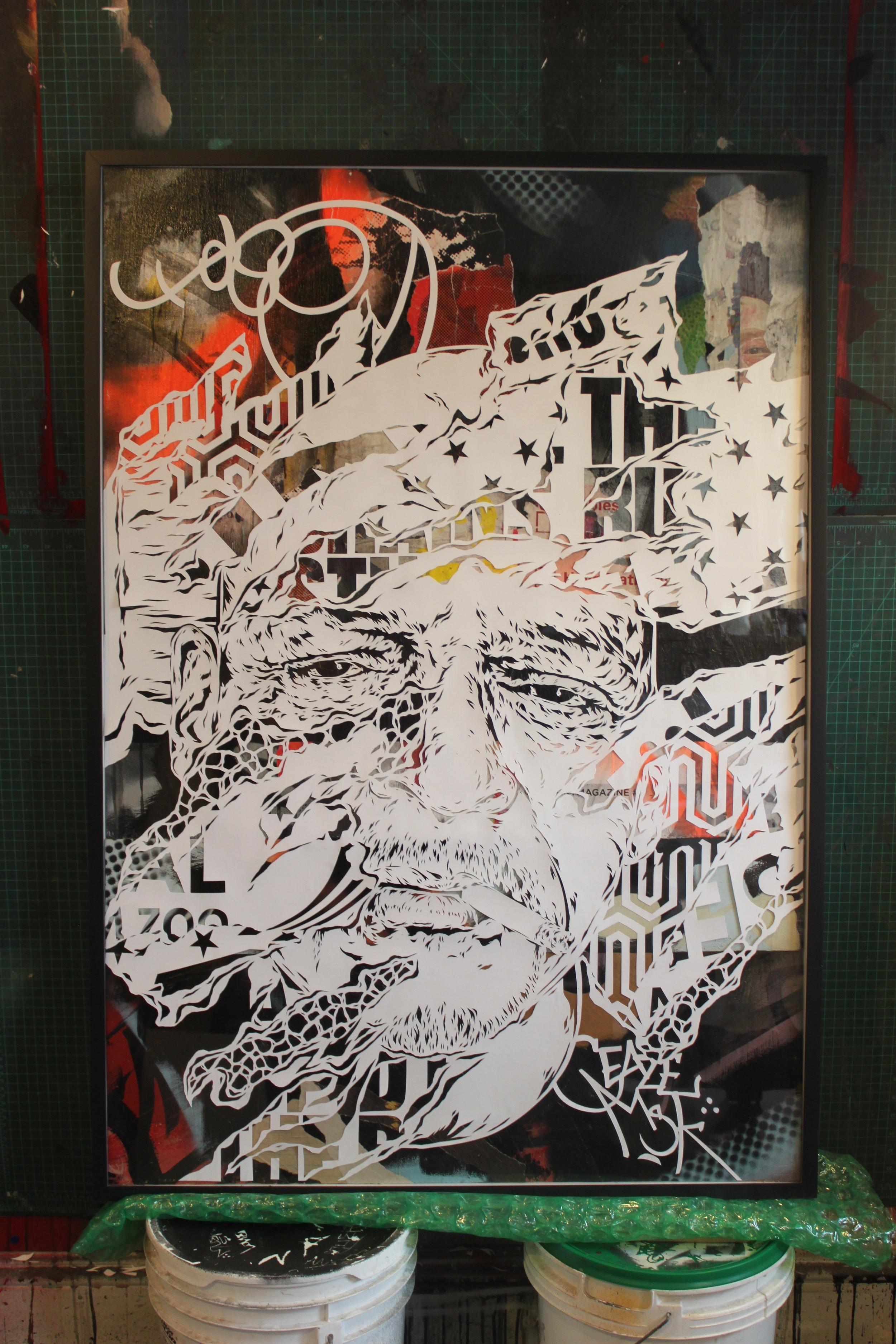 Newark Ave. Portrait of Taco AKA Tick Tock. Ian Kuali'i