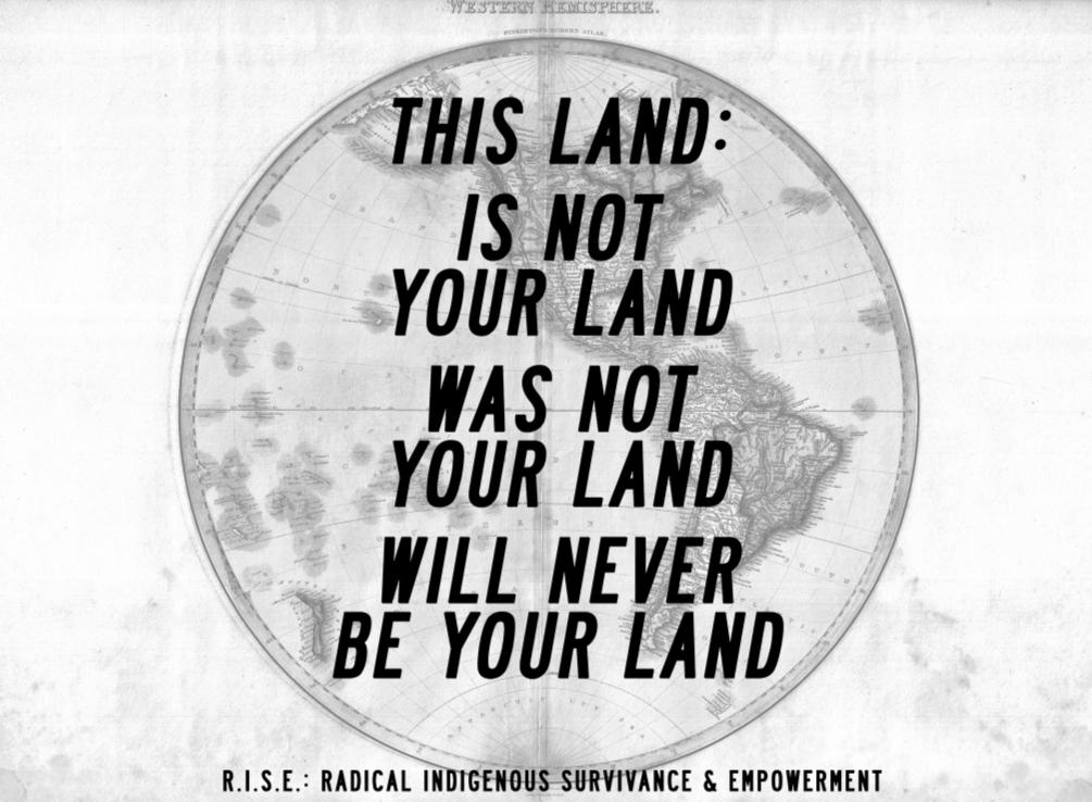 burymyart:R.I.S.E.This Land, 2013