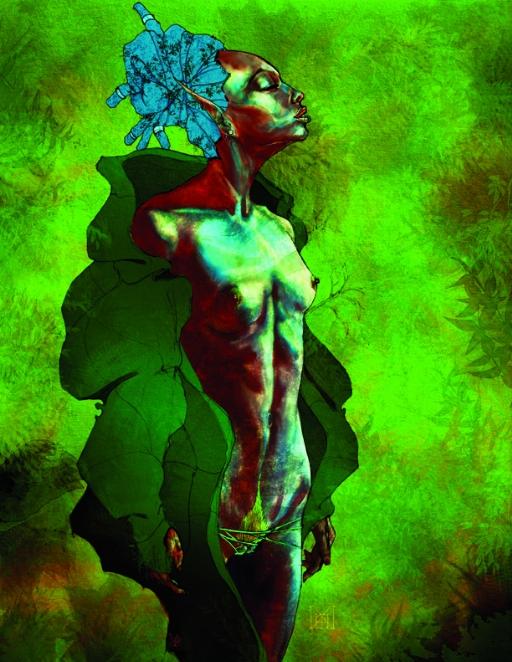Illustration from Cult of the Serpentari. Micah BlackLight