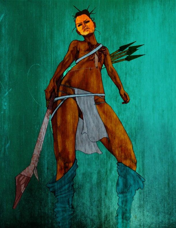 Illustration from   C ult of the Serpentari . Micah BlackLight
