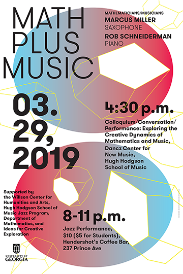 Math Plus Music, 2019, Design Assistant: Brandon Dudley