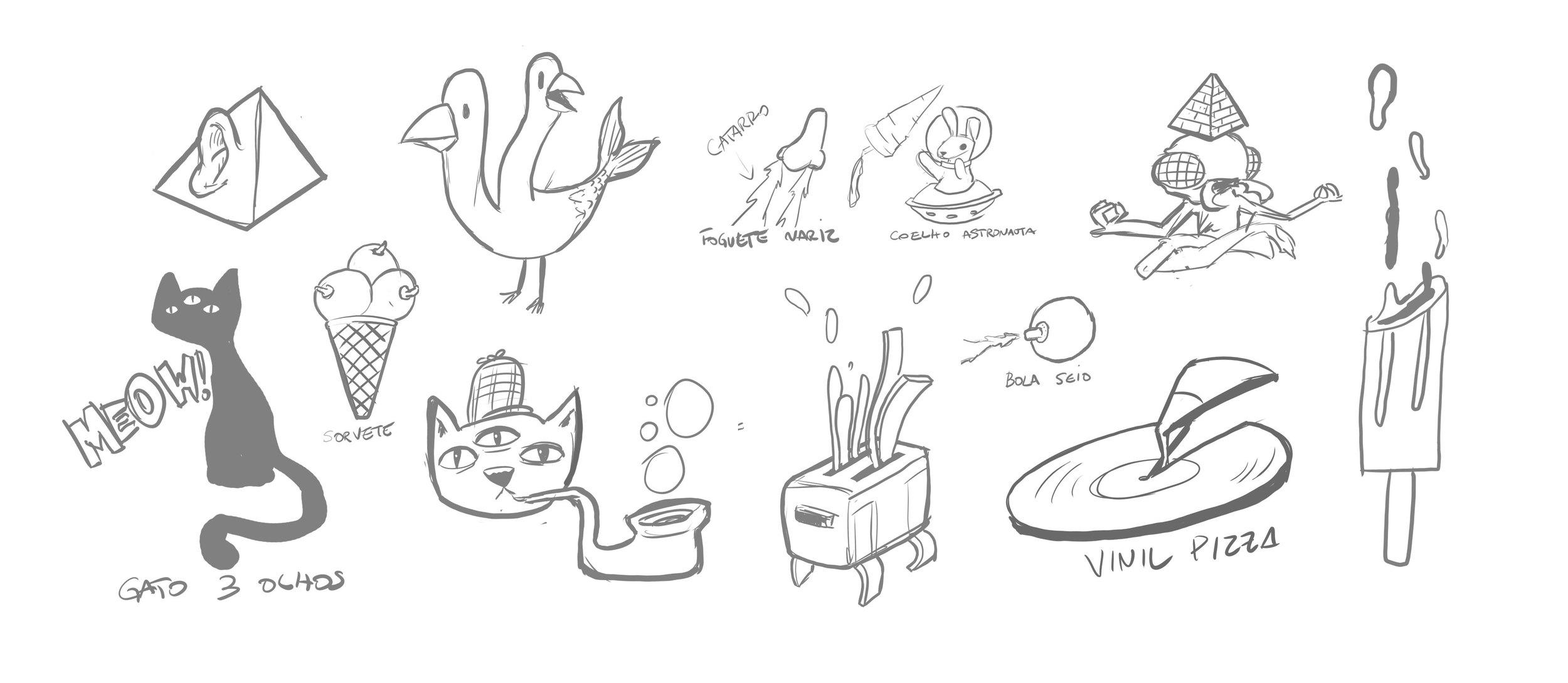 Initial brainstorms