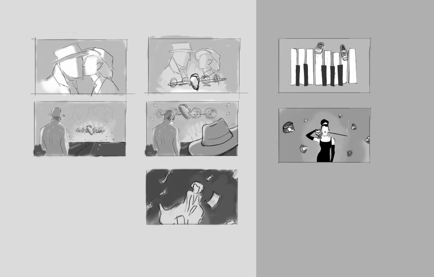 Alternative storyboards