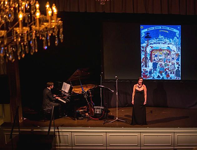 Pavlina Horáková and pianist Matthew Sinno