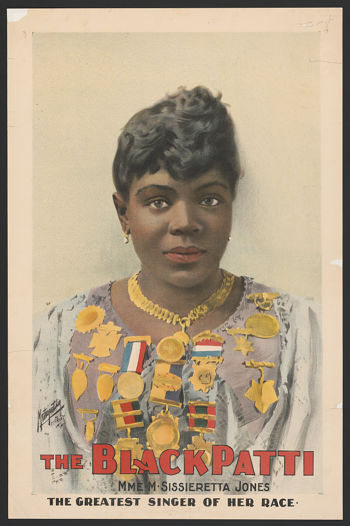 Image Credit: Sissieretta Jones, Metropolitan Printing Co., 1899; Library of Congress, Prints and  Photographs Online Catalog
