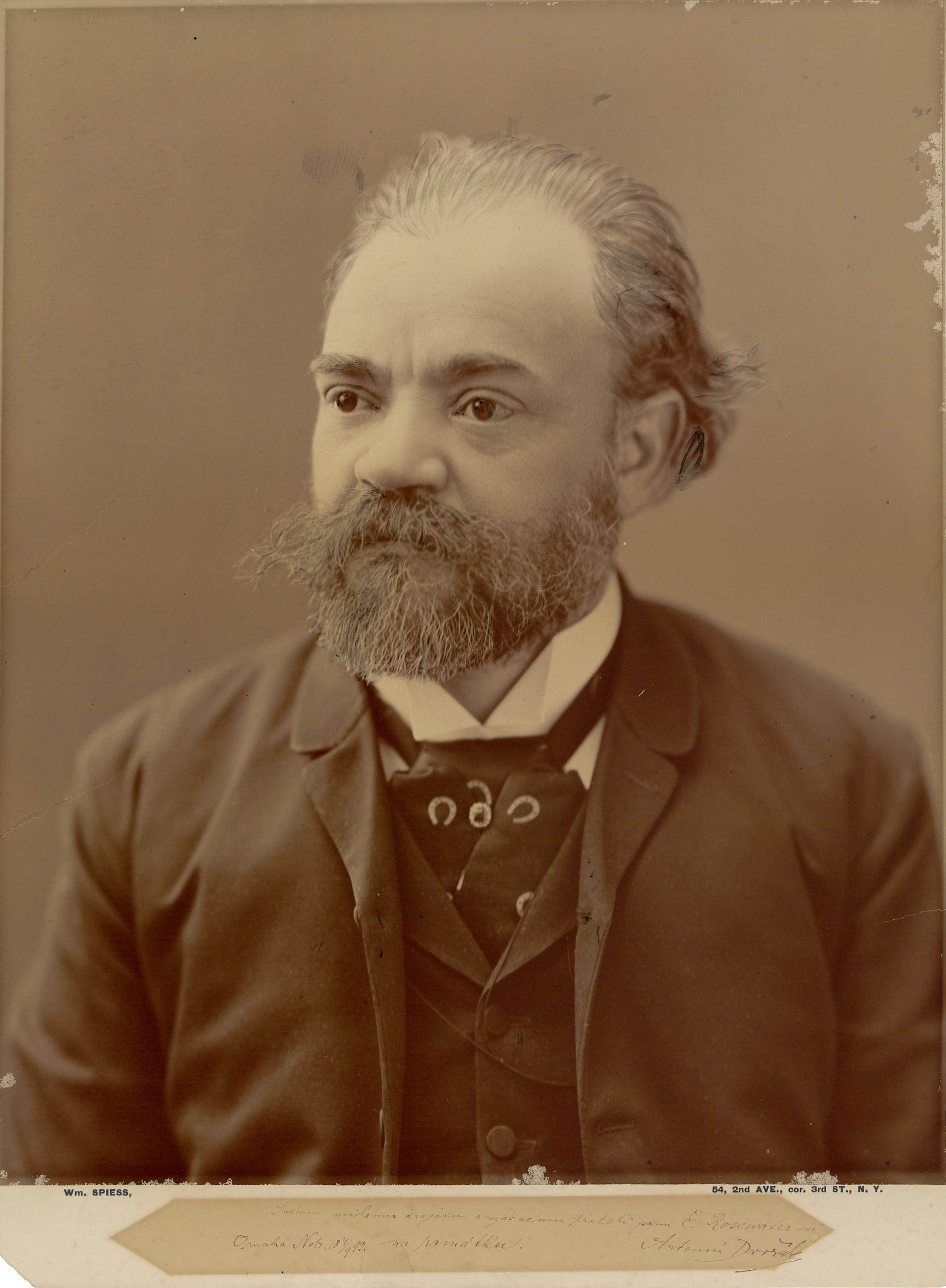 Antonín Dvořák circa 1883, DAHA Archive.