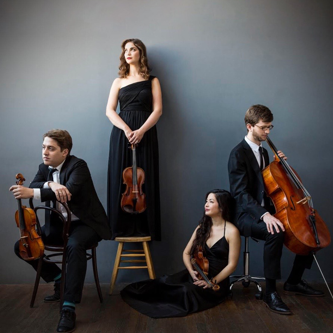 Aeolus Quartet, photo by Deborah Feingold