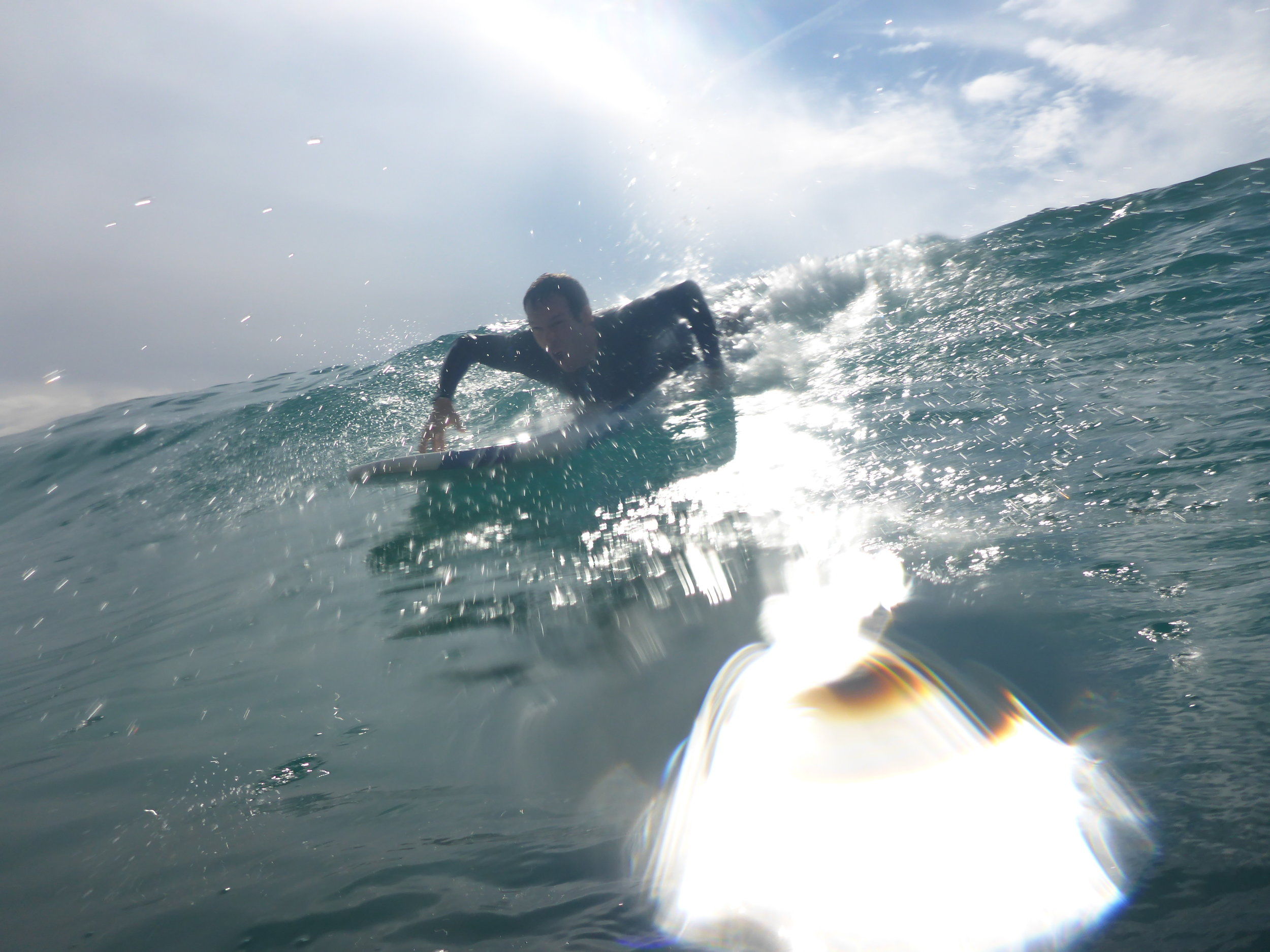 Drop In On A Wave