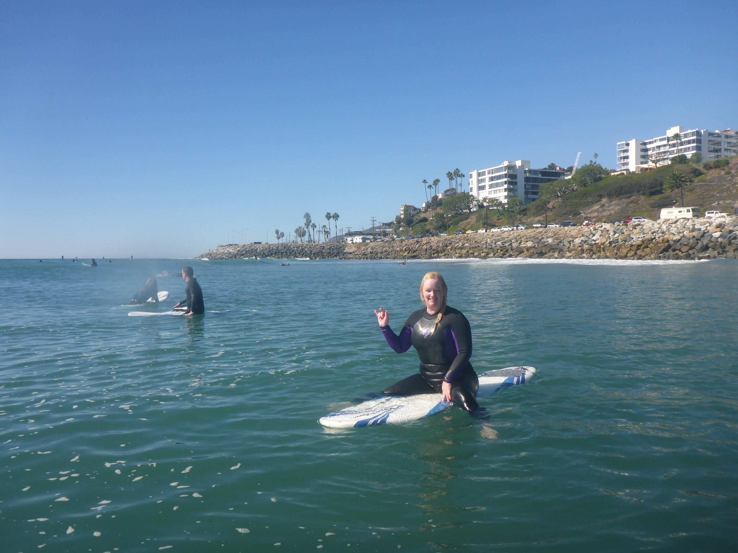 Surf Lessons In Malibu