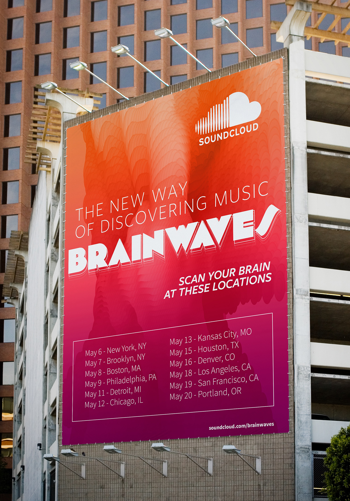 Promotion  - Posters will be put up around the cities and Festivals that Brainwaves will be visiting.