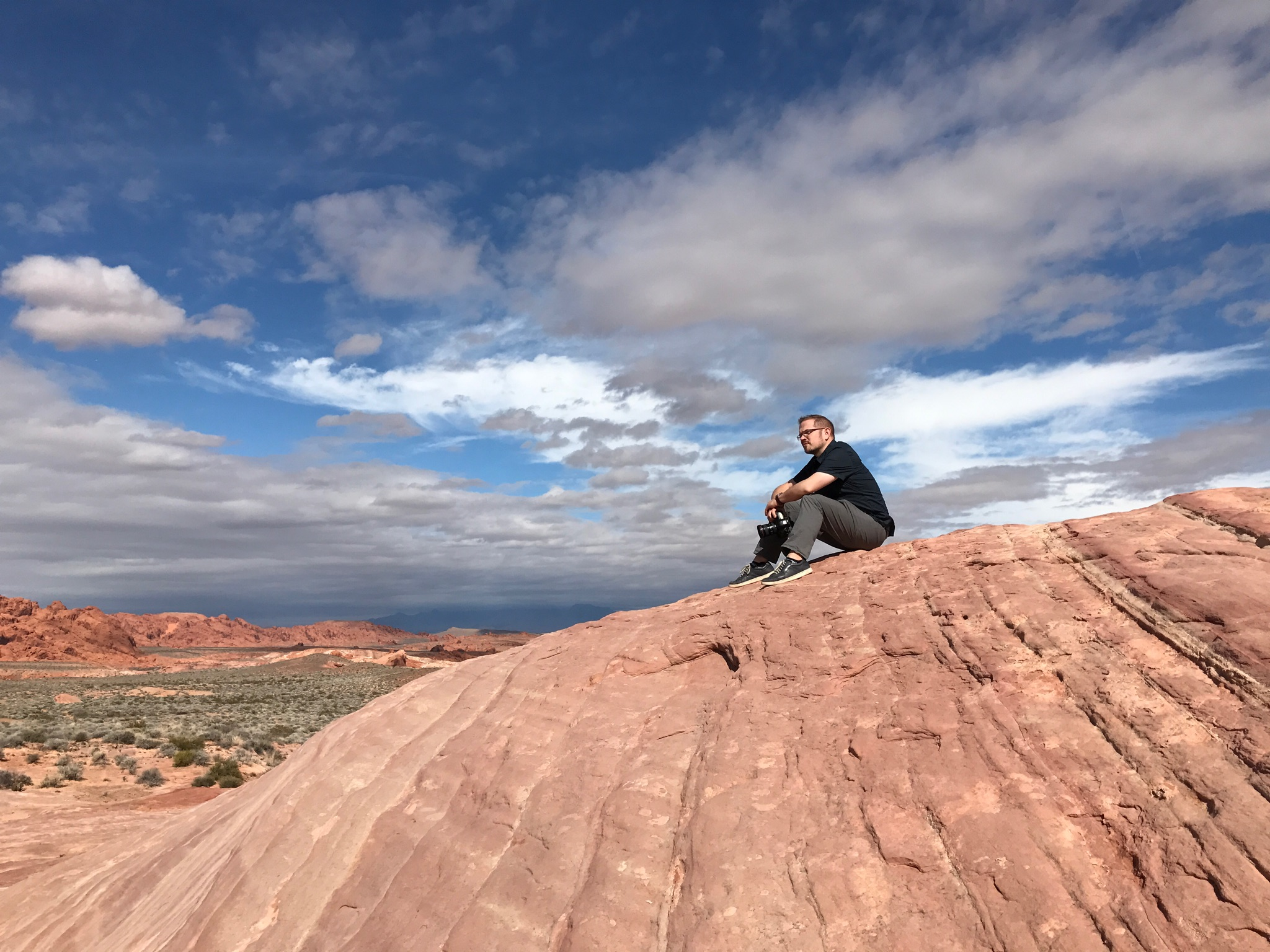 Nate in 'The Valley Of Fire,' Las Vegas, NV