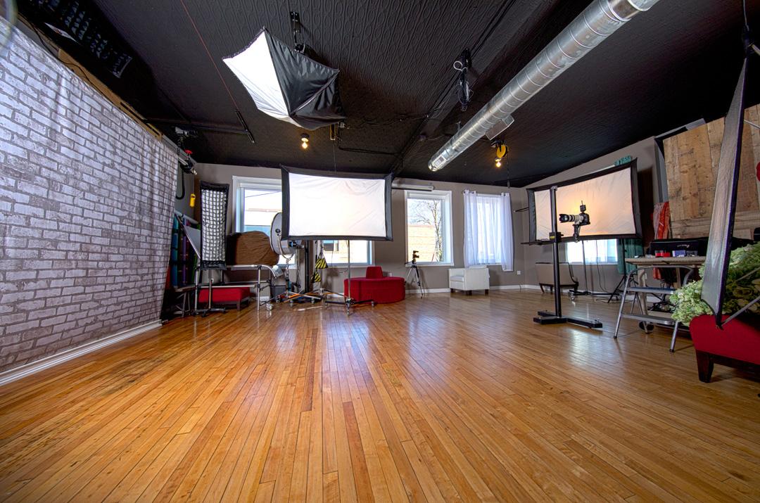 Our spacious camera room.