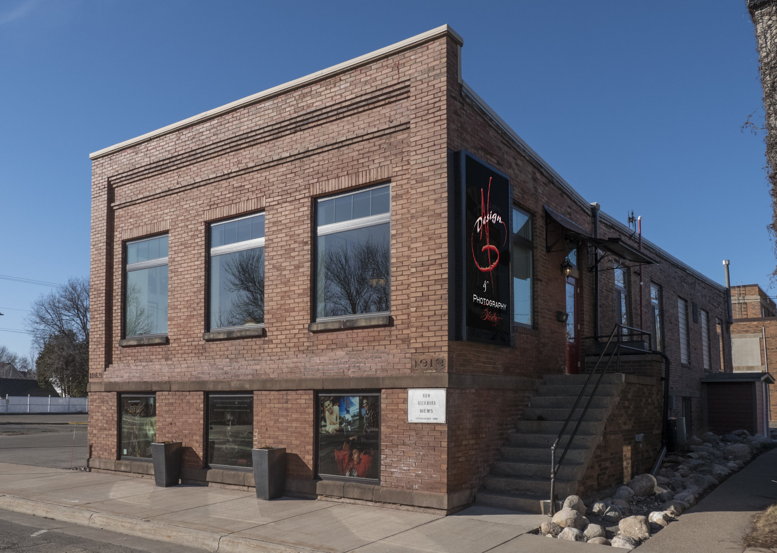 Our 100-Year-Old building located in the heart of New Richmond, WI.
