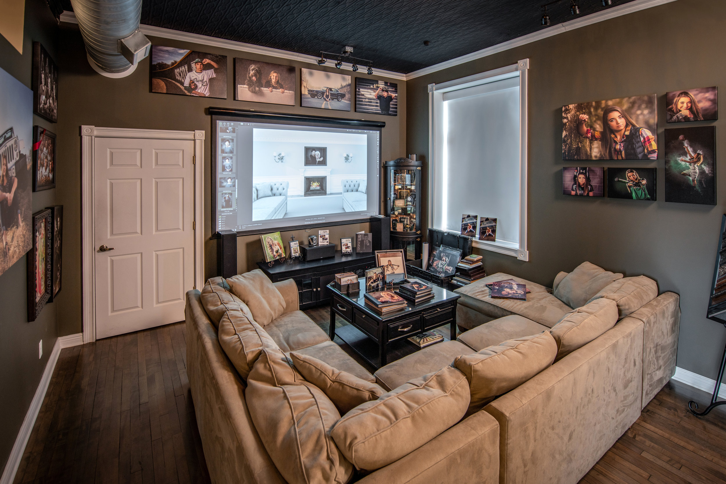 Our theatre-style showroom and consultation space.