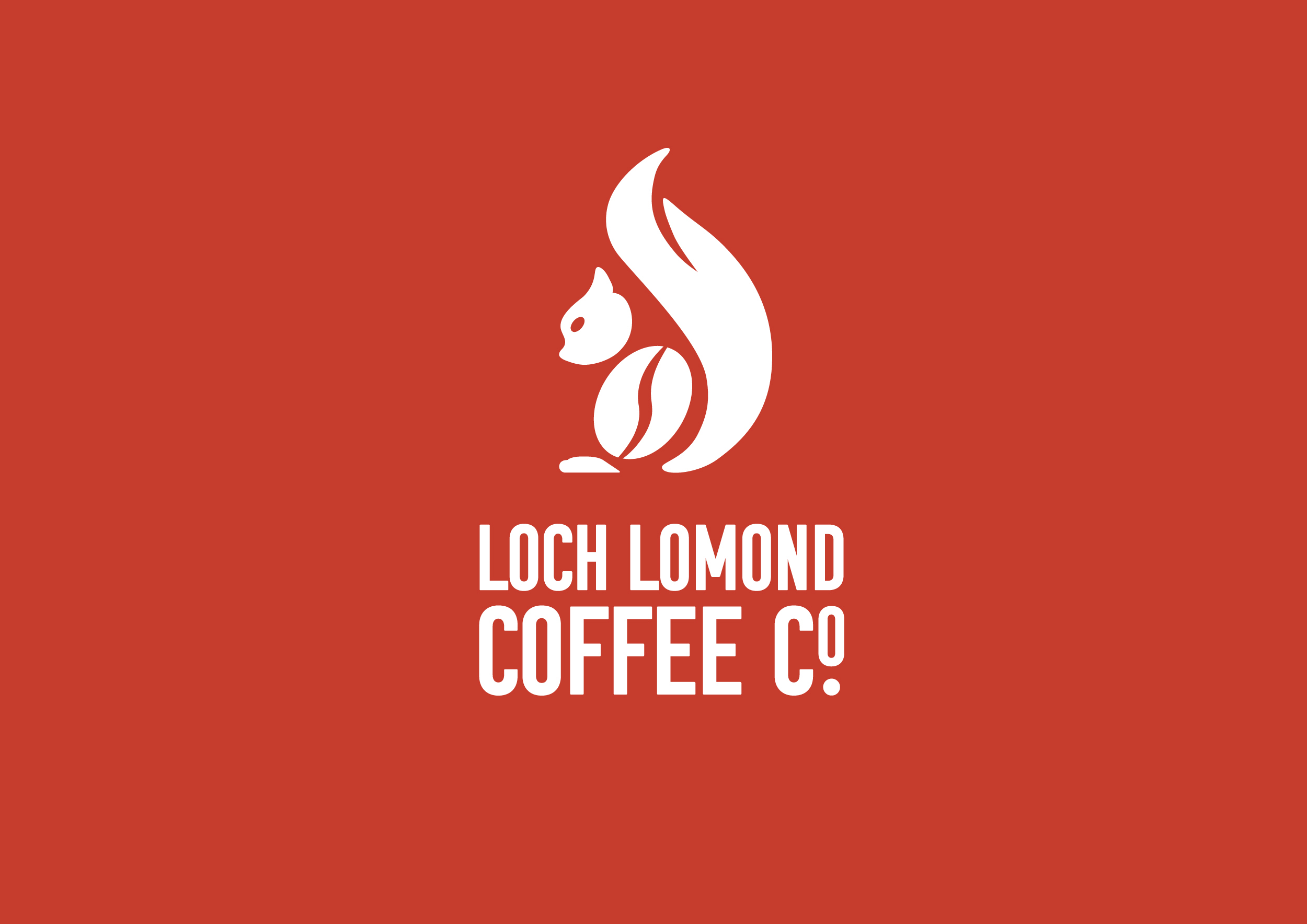 Loch Lomond Coffee Co. Identity