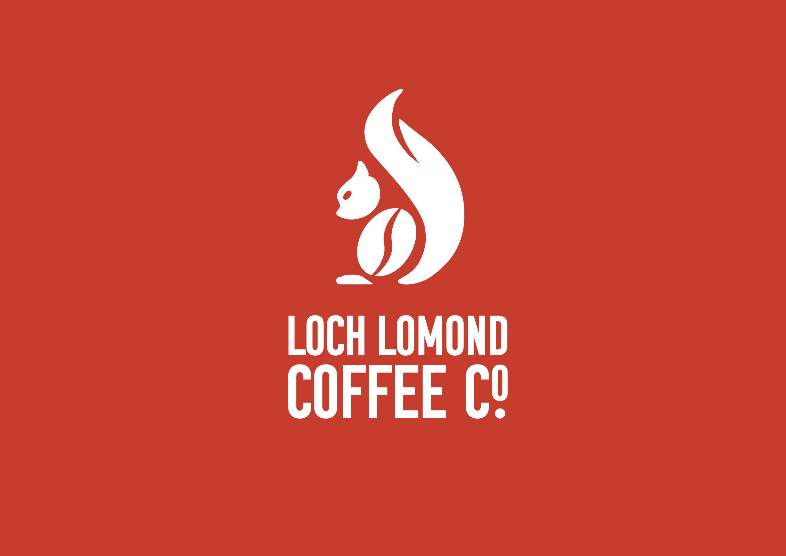 Loch Lomond Coffee Co. branding