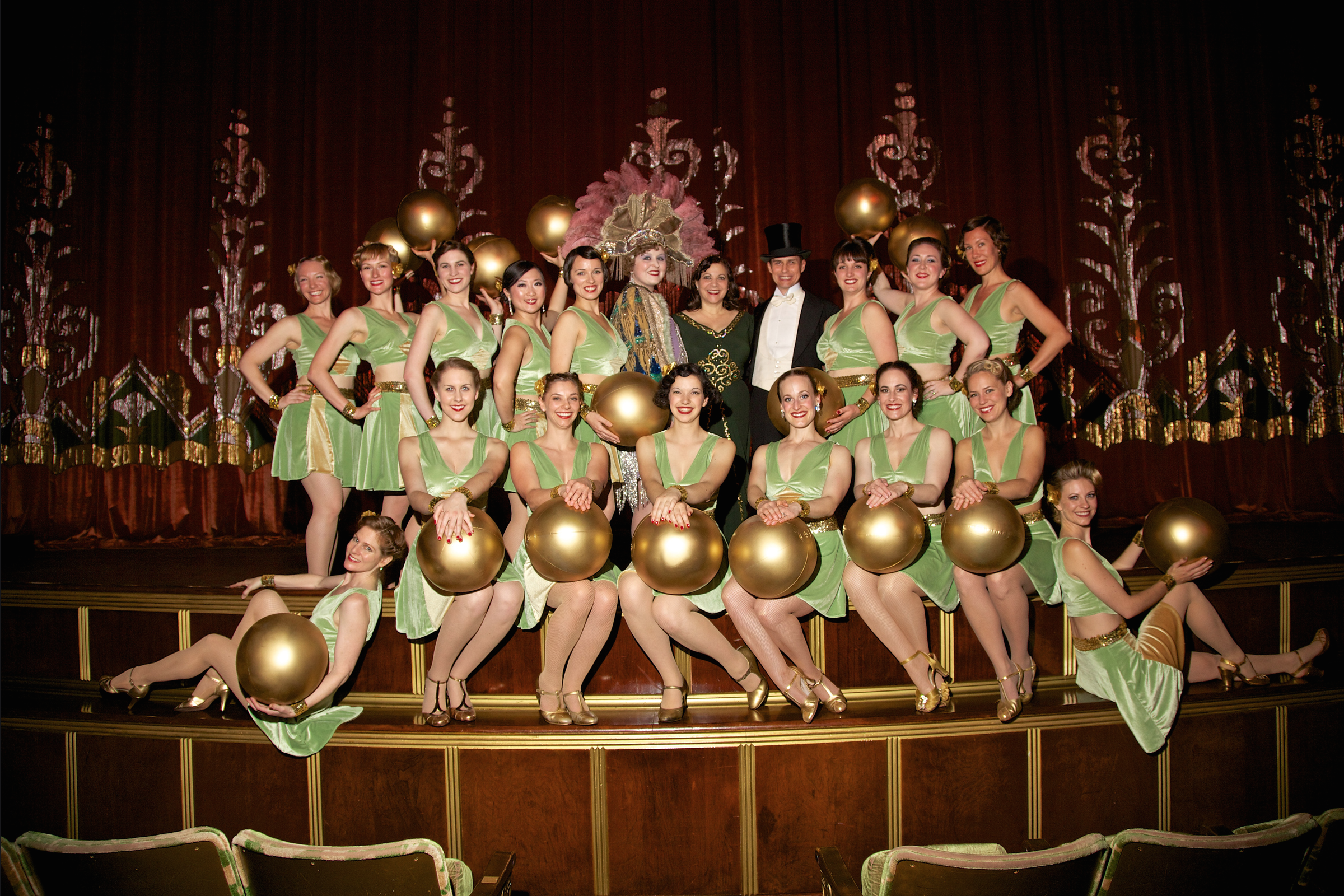 Decobelles at the Art Deco Preservation Ball