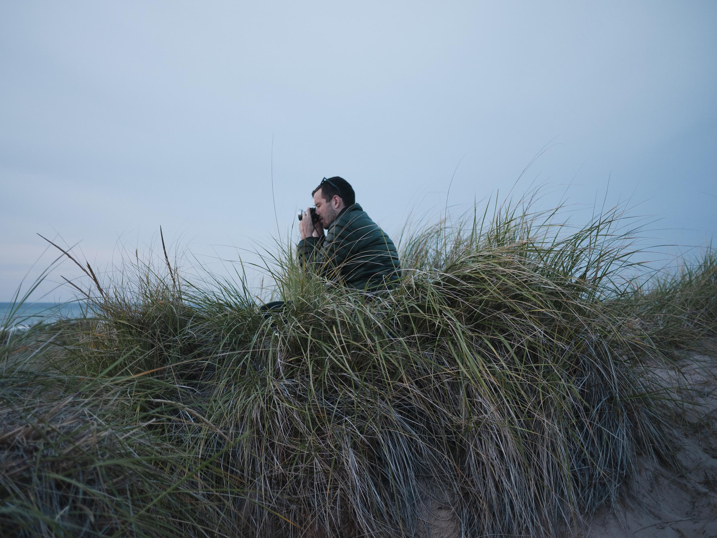 Aaron in his nest... :)