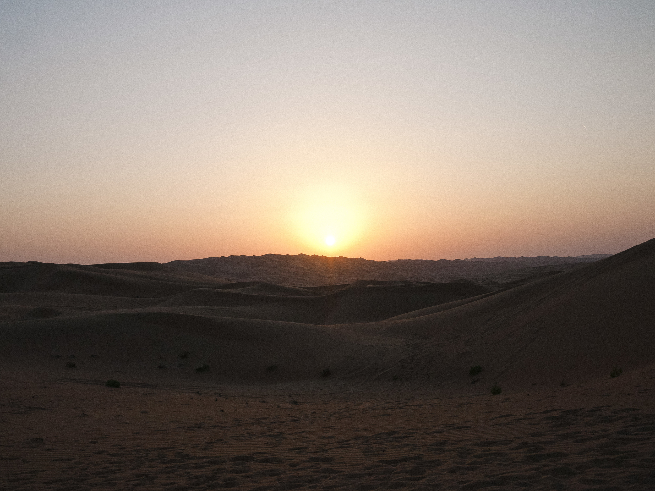 Sunset at Liwa Desert