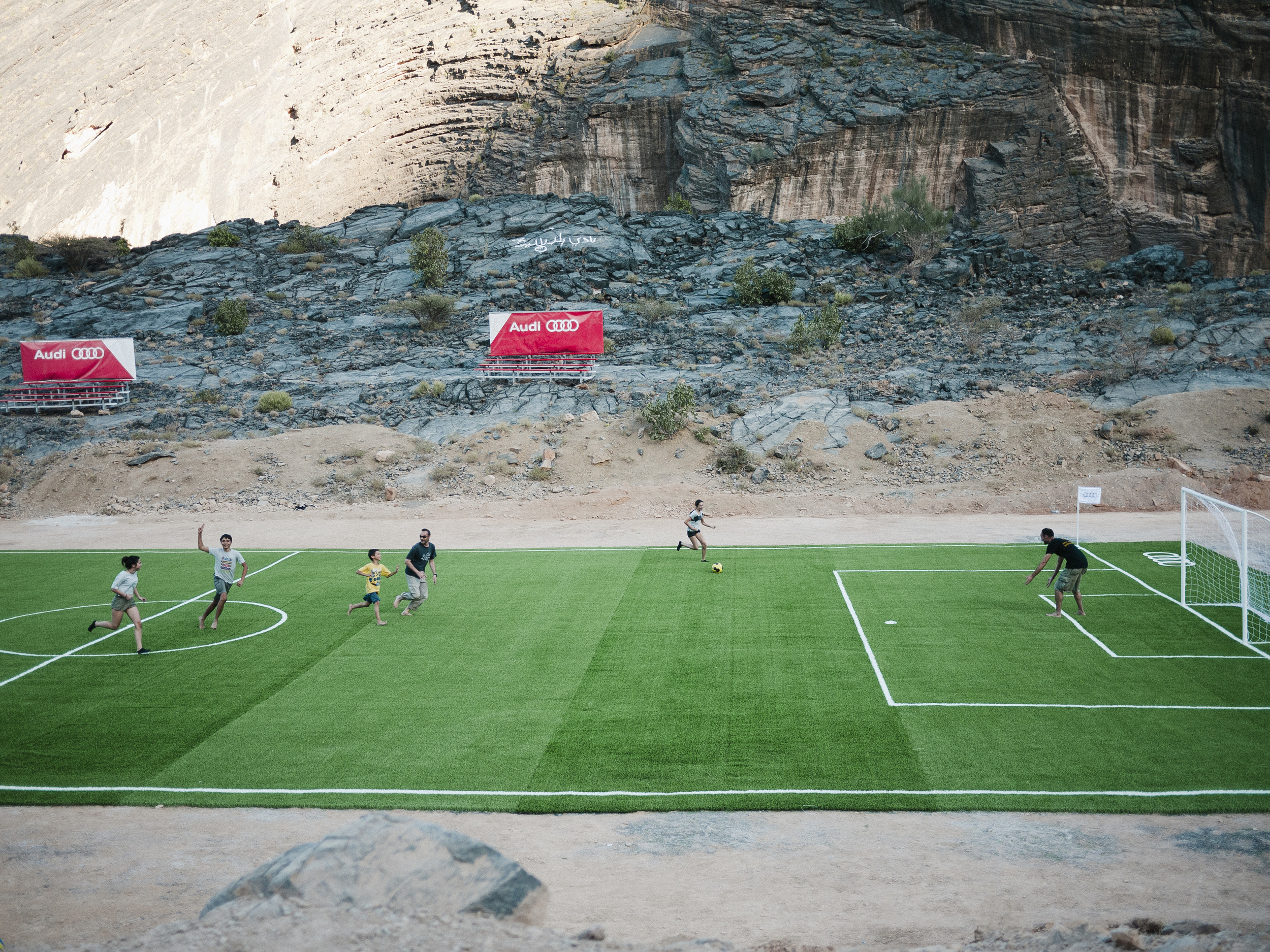 A random Soccer Field we came across on our way to Bilad Sayt.
