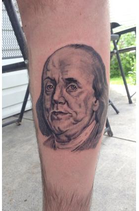 Ben Franklin Tattoo