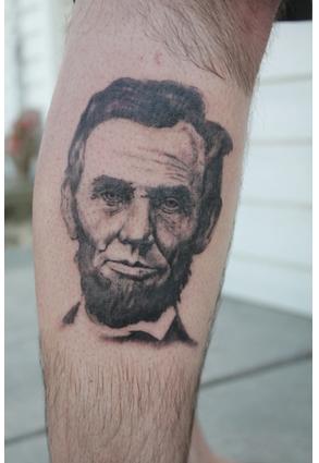 Abraham Lincoln Tattoo