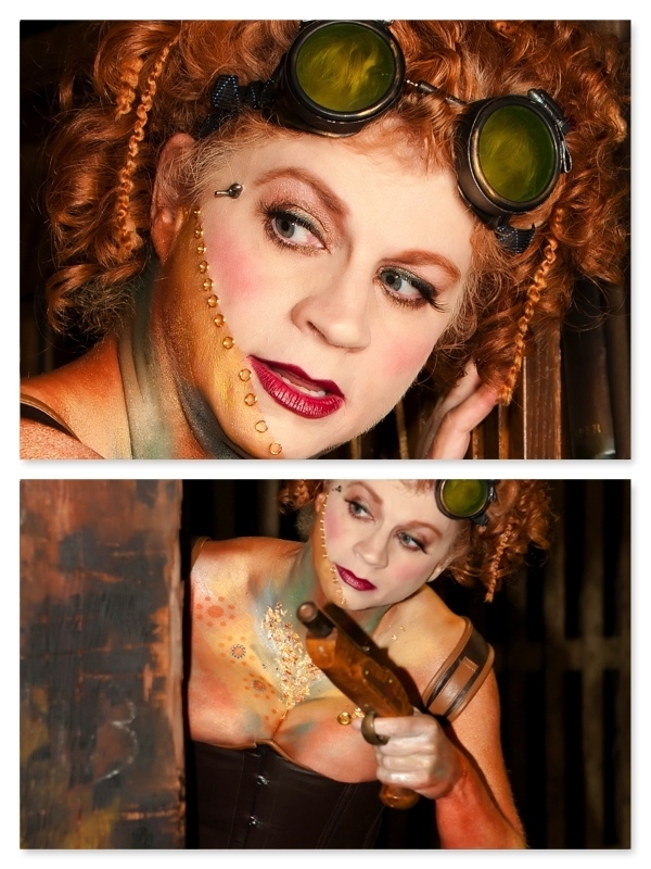 Steampunk Body Paint