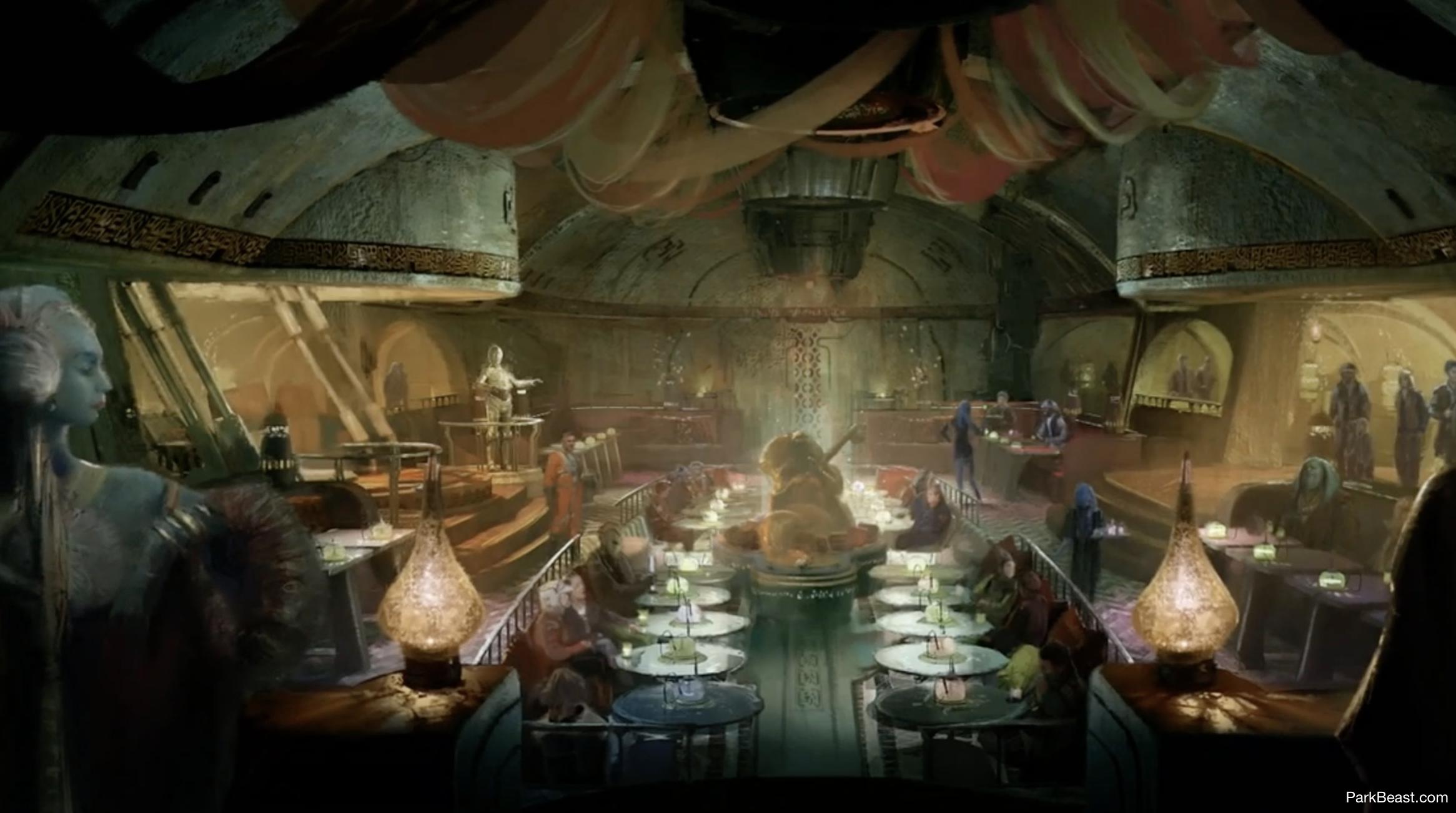 Upscale dinner club
