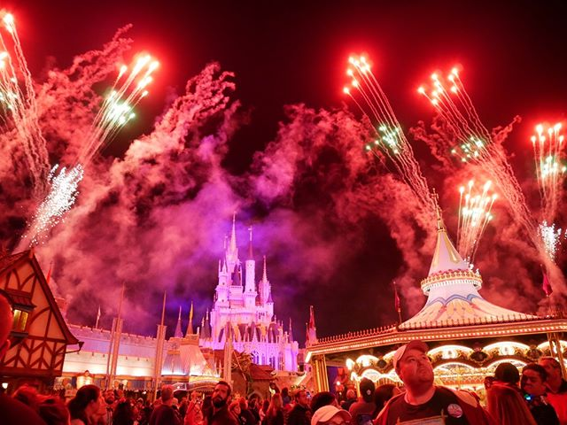 Do you like watching the Magic Kingdom fireworks from other places throughout the park other than Main Street and the Hub? . . . . #disney #disneyworld #waltdisneyworld #disneyparks #disneyfan #disneygram #disneyig #disneypics #instadisney #florida #orlando #wdw #picoftheday #disneyphoto #wdwresort #mickeymouse #photooftheday #travel #vacation #themeparks #disgsram #magic #magickingdom #fireworks