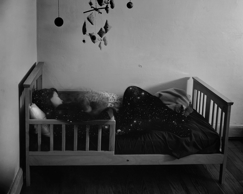 Scott Alario,  Eternity til Sleep , 2011, Archival pigment print mounted to rag board, 12 x 15 inches