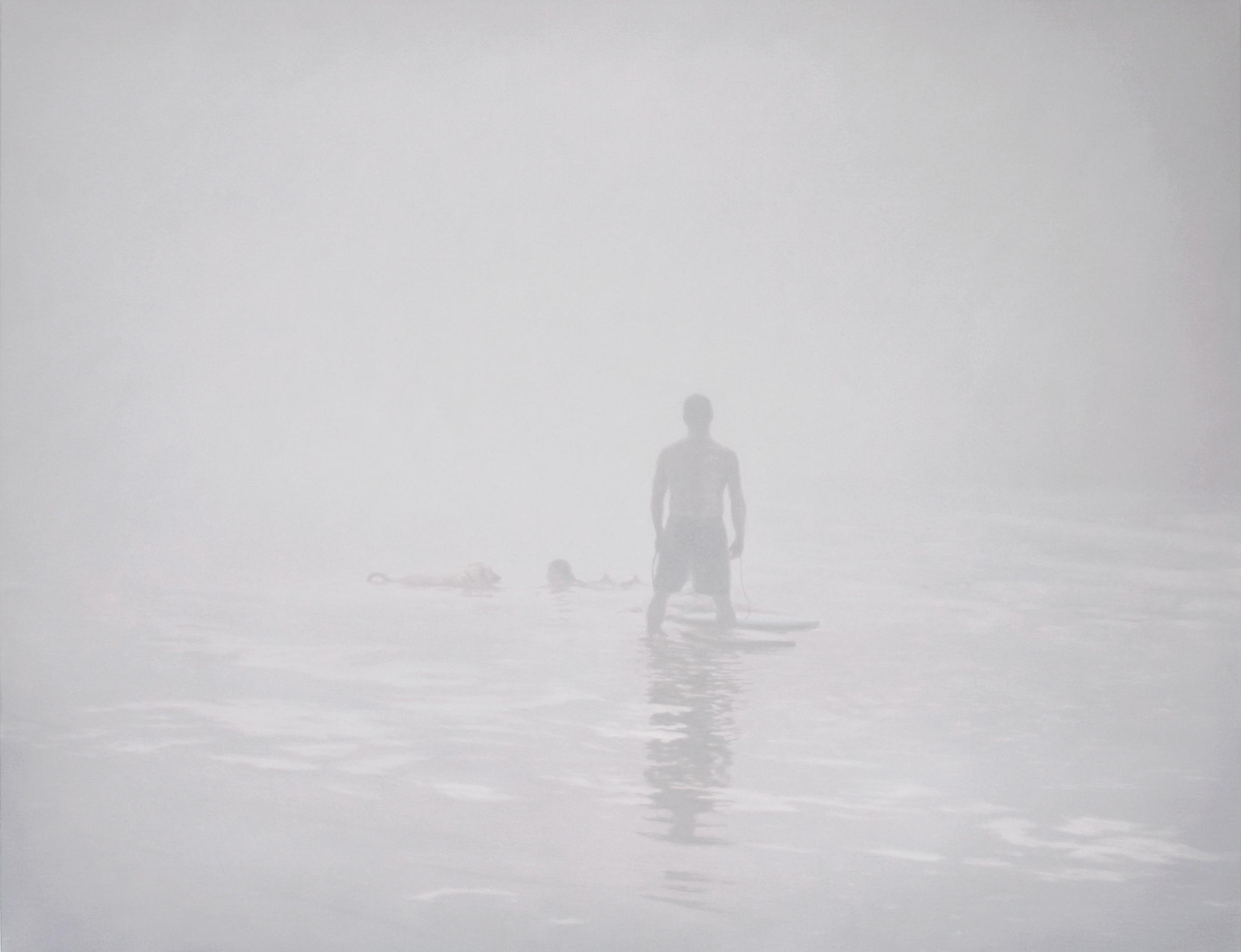 Peter Rostovsky,  Beach Scene 1,  2011, Oil on linen, 29 x 38 inches