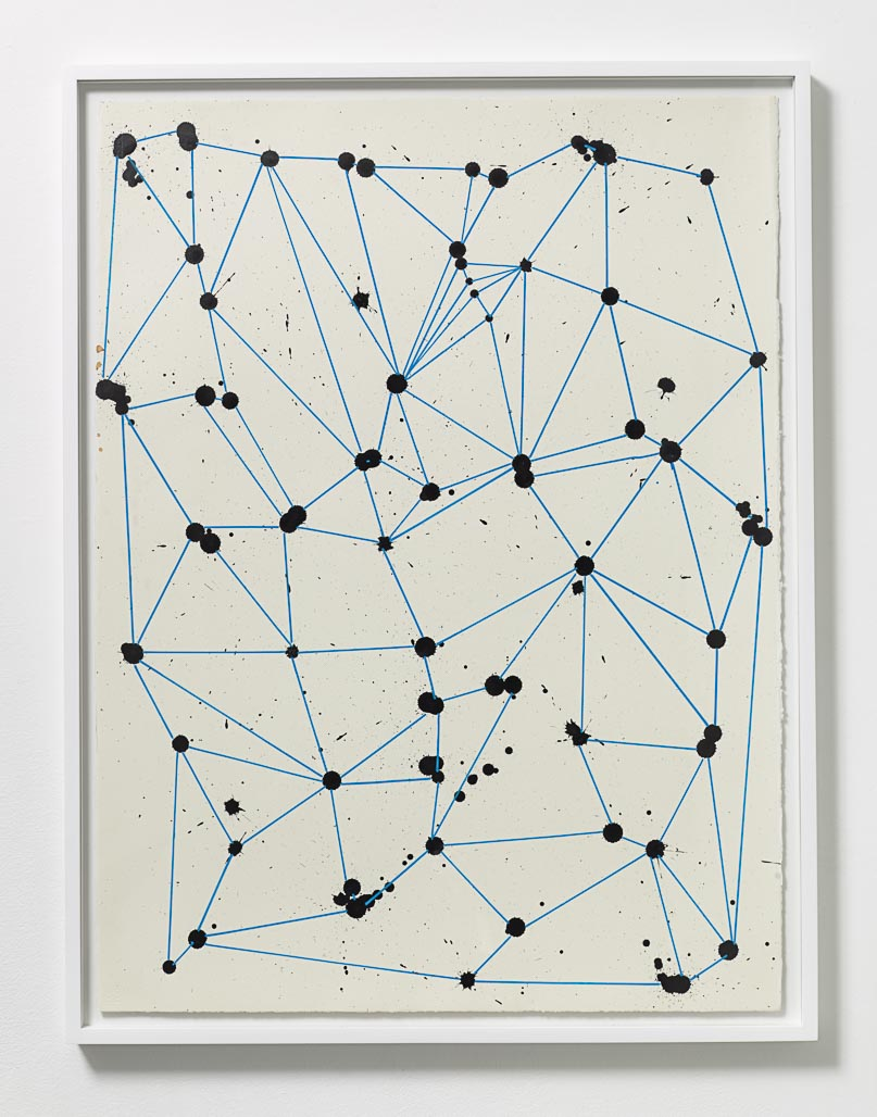Olav Westphalen, Untitled, 2014  , Ink and acrylic on paper  , 30 x 22 1/4 in.