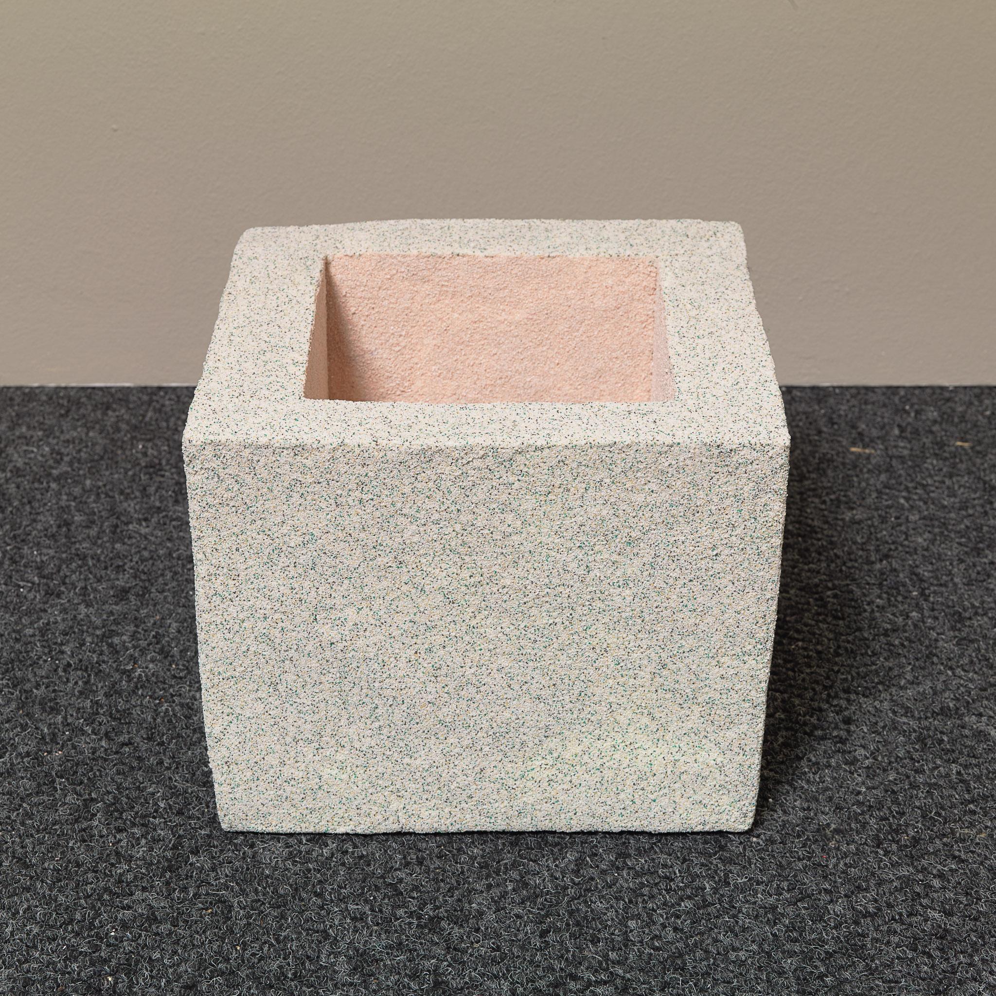 Rachel Higgins,   Soap Box   , 2015 ,  Polystyrene, fiberglass, cement, cerastone  , 12 1/4 x 11 3/4 x 9 18 in.