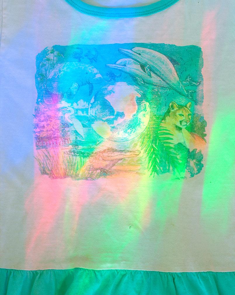 Scott Alario,  Dolphin Dress , 2015, Archival pigment print, 15 x 12 in (38.1 x 30.48 cm), Edition of 2 + 1AP