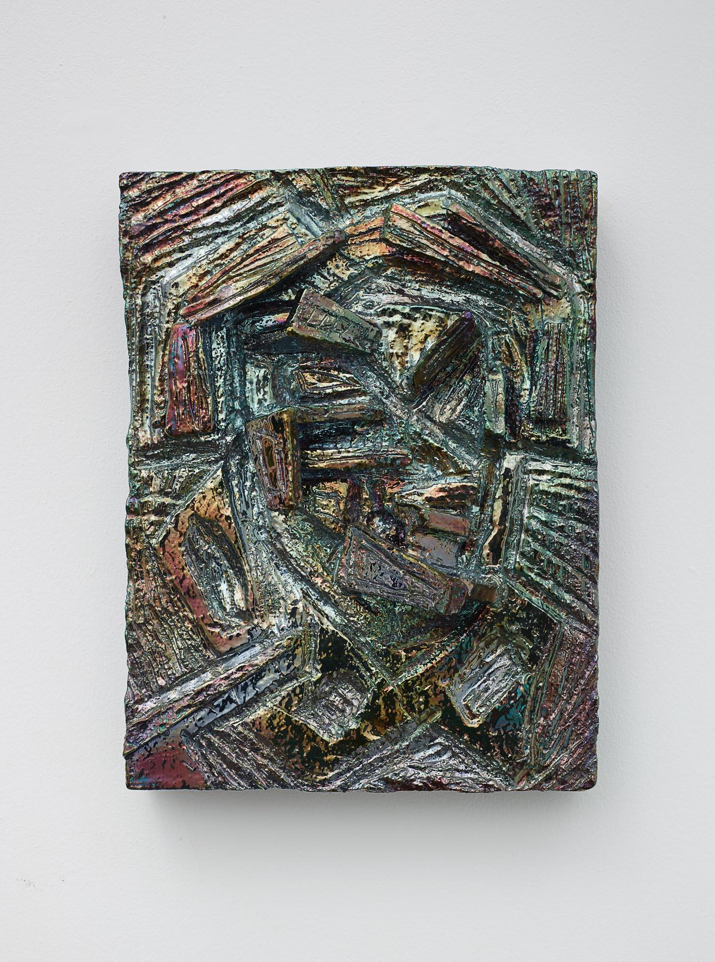Julia Kunin,  Zircon , 2014, Ceramic, 13 1/2 x 10 x 4 1/2 inches