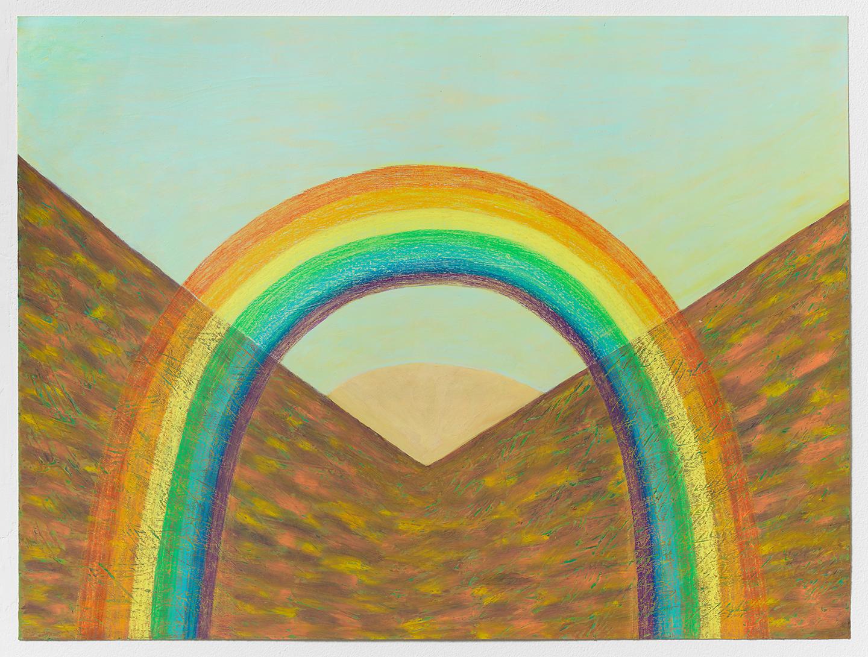 Ping Zheng, Rainbow Over Dry Land, 2019